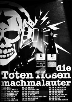Tesch Riesling für die Toten Hosen - der Weißes Rauschen #Tesch #Wein #Riesling #Nahe #Hosen #Rauschen