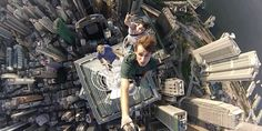 Image result for gopro standing on skyscraper