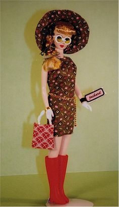 Joshard OOAK make over reproduction Barbie doll mod look AFKA Joshard Jeff Bouchard