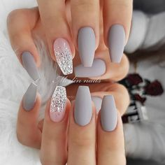 In search for some nail designs and ideas for your nails? Listed here is our listing of must-try coffin acrylic nails for cool women. Best Acrylic Nails, Cute Acrylic Nails, Acrylic Nail Designs, Nail Art Designs, Nails Design, White Nails, Pink Nails, Glitter Nails, Gel Nails