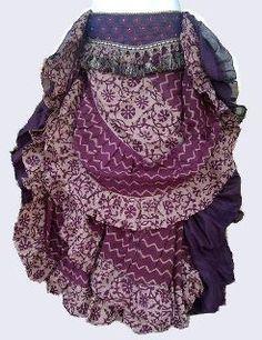 organic cotton 25 yard skirt