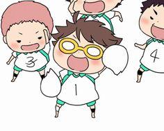 Aoba Johsai Seijou / / UMARU// I think iwa would hit oikawa with a volleyball Manga Haikyuu, Haikyuu Chibi, Haikyuu Gif, Manga Anime, Anime Gifs, Chibi Anime, Haikyuu Karasuno, Haikyuu Funny, Fanarts Anime