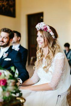 We Are Flowergirls- Flowercrown- Weddingcrown_ Headpiece-Accessoire-Handmade-Hairaccessoire- Headband Girls Dresses, Flower Girl Dresses, Headpiece, Wedding Dresses, Flowers, Handmade, Fashion, Accessories, Bride Gowns