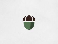 Seth Nickerson Killed logo concept for a homebuilding company. They're in an area with oak trees aplenty, and you know what they say about that: where there's oaks, there's acorns.