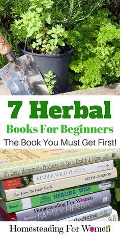 7 Herbal Books For Beginners