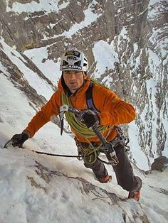 Ueli Steck, North Face Eiger ohhhh don't slip