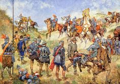 The Battle of Nieuwpoort in 1600 by J.H. Isings
