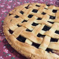 Crostata di mele e more (Blackberry and Apple pie)