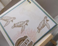 Stampin Up at The Warren: From Land To Sea For the Umpteenth Time - includes a video clip