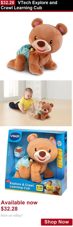 Developmental Baby Toys: Vtech Explore And Crawl Learning Cub BUY IT NOW ONLY: $32.28