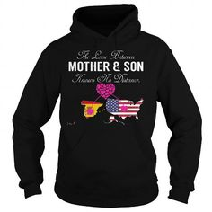 This matching mother and son shirt will be a great gift for you or your friend: The Love Between Mother and Son - Spain United States Tee Shirts T-Shirts