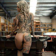 "1,493 curtidas, 11 comentários - Tattooed Girls Is Life 😍😘 (@statt_girl) no Instagram: ""Natural  By @missmjmontana"""