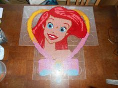 Disney Princess Ariel hama perler beads (22  pegboards) by  hardy8676