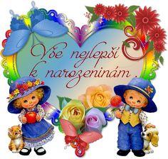 prani_k_narozeninam_3 Happy Birthday Quotes, Mobiles, Christmas Ornaments, Holiday Decor, Party, Home Decor, Homemade Home Decor, Mobile Phones, Christmas Jewelry
