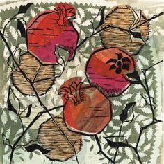 Image result for chine colle linocut
