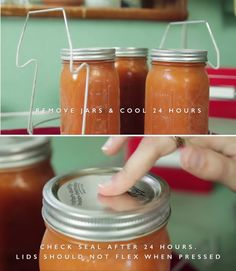 Step 12: Remove Jars And Cool For 24 Hours | How To Use Your Canning Supplies