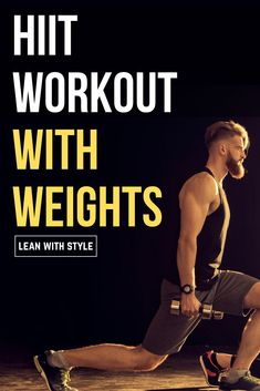 If you& looking for a HIIT Workout With Weights, then you want to read this article! hiit workout with weight & hiit workout with weights& The post HIIT Workout With Weights – 20 Minutes (Beginner Friendly) appeared first on Vickers Fitness. Hiit Workouts With Weights, Hiit Workouts For Men, Lifting Workouts, Extreme Workouts, Training Workouts, Circuit Training, Weight Training, Hitt Workout, Dumbbell Workout