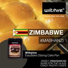 Mabhanzi: Sweet Zimbabwean buns for the glaze crazy pastry chef. Click here for recipe: www.facebook.com/wiltshiresa