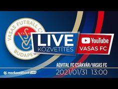 (5) Aqvital FC Csákvár - Vasas FC   Merkantil Bank Liga   22. forduló   Élő közvetítés - YouTube Chicago Cubs Logo, Team Logo, Youtube, Logos, Sports, Hs Sports, Logo, Sport, Youtubers