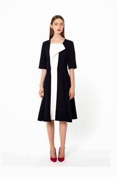 fantastic and cool black dress