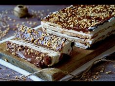 Semifreddo di Biscotti al Mascarpone e Nutella - YouTube