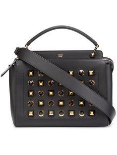 FENDI 'Dotcom' tote. #fendi #bags #shoulder bags #hand bags #leather #tote #
