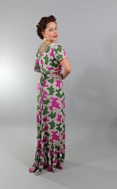 1950s Vintage DressDEPEND ON ME Summer Fashion by stutterinmama, $124.00