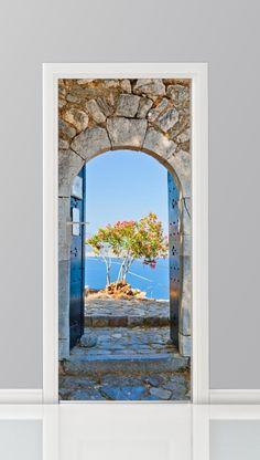 Deursticker - 8092939 - Muren en Gevels - Posterwand.com