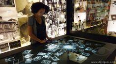 memory pool, 18 camps displays and audio tour app at the LA Holocaust museum