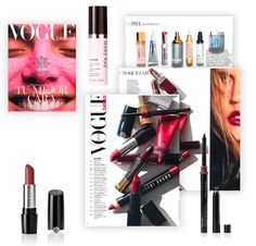 e0667f5737 Revista Vogue. Octubre 2016. Lápiz de Labios Gel Semi-Mate Mary Kay®:  Midnight Red Delineador de Labios Mary Kay®: Berry Sérum Perfeccionador  TimeWise®