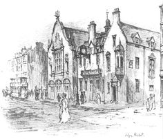 Sketch of Pearce Institute, Govan (completed in 1906).