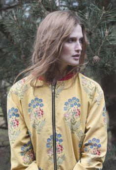 jacquard bomber jacket www.boho.lu