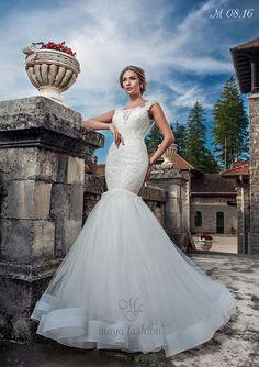 Model M08.16 Dream Wedding Dresses, Designer Wedding Dresses, Romanian Wedding, Maya Fashion, Marie, Wedding Day, Elegant, Outfits, Weddings