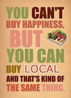 Help support your local farmers