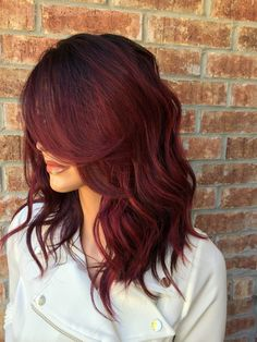 50 Striking Dark Red Hair Color Ideas Bright Yet Elegant Check More At Http