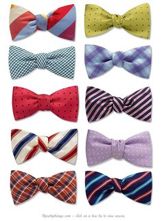 bowties.... Summer edition