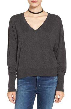 BP. V-Neck Crop Pullover