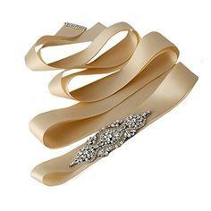 Azaleas Women's Beading Crystal Bridal Sash Wedding Belt Champagne One Size azaleas http://www.amazon.com/dp/B012FADB1M/ref=cm_sw_r_pi_dp_k0XUvb1RVJBF0