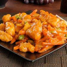 Copycat Applebee's Crispy Orange Chicken Bowl