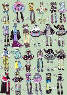 SOLD-ClothesCollab by Guppie-Adopts.deviantart.com on @DeviantArt