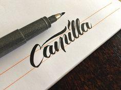 Matt Vergotis Calligraphy. 15 Must Follow Calligraphers on Dribbble #Calligraphy #Typography