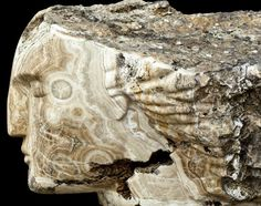 Modern marvels from ancient stone..., one of many magnificent sculptures by the…
