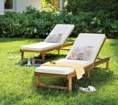 13557d129e4 The simple silhouette of this lounge chair complements decks and patios in  traditional and contemporary homes