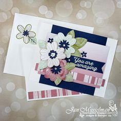 Diy And Crafts, Paper Crafts, Handmade Crafts, Stamping Up, Creative Cards, Greeting Cards Handmade, Stampin Up Cards, I Card, Cardmaking