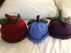 "more blue ""berry"" hats"
