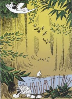 Moomin+Picture+from+Tove+Jansson+Original+Illustrations.jpg (291×400)