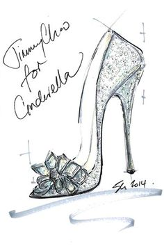 Cinderella's glass slippers: reimagined by famous shoe designers such as Jimmy Choo, Manolo Blahnik, Christian Louboutin, and more. #shoes