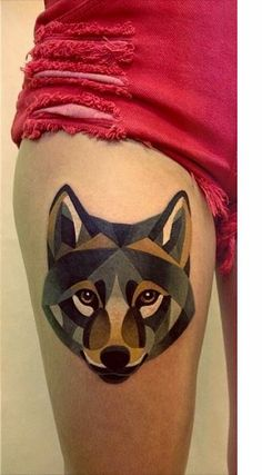 Sasha Unisex Watercolor Tattoo