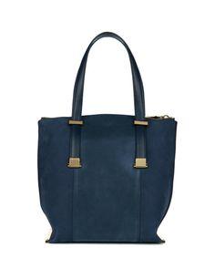 Metallic panel shopper - Dark Blue   Bags   Ted Baker UK