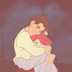 Anastasia and Demitri. I know they're not Disney, but I absolutely love this movie.